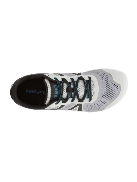 Xero Shoes HFS Gris Clair Homme vue dessus
