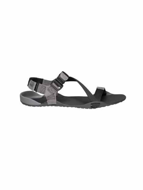 Sandales Minimalistes Xero Shoes Z-Trek Homme Coal Black