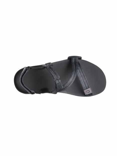 sandale minimaliste umara z-trail femme noir